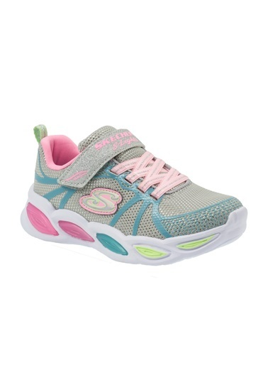 Skechers Skechers 302042L GYMT Shimmer Beams Sporty Glow Kız Çocuk Yürüyüş Ayakkabısı Gri